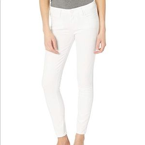 Paige Verdugo Ultra Skinny Jeans White